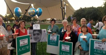 Supreme Court & Vigil for Malala Yousufzai – October 2012