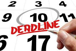 Financial Documents and Deadlines