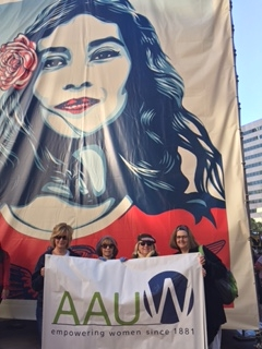 AAUW March