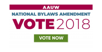 AAUW California Supports the AAUW National Bylaws Amendments