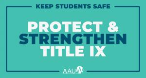 Protect Title IX
